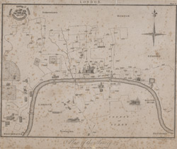 London; plan of the survey